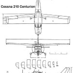 cessna210_blueprints